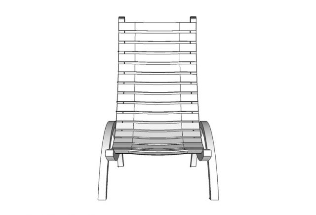 Mellow-Chair-Model-Front