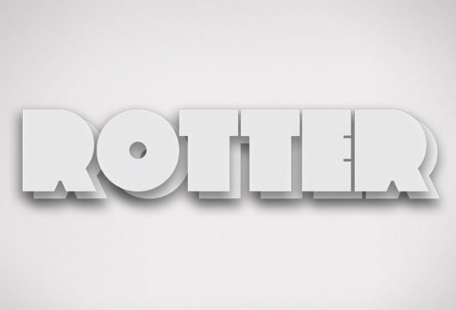 Rotter-Typeface