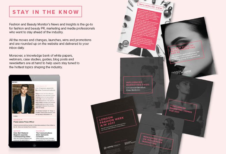 Fashion & Beauty Monitor Influencer Profile